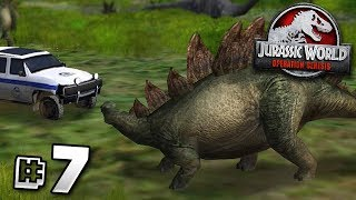 The Stegosaurus Mistake! - Jurassic World Operation Genesis | Jurassic Month