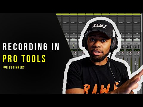 How To Record In Pro Tools For BEGINNERS