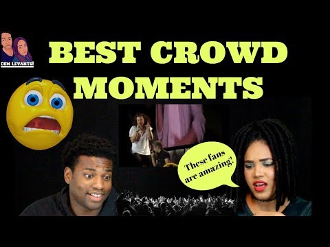 One Direction- Best Crowd Moments| REACTION
