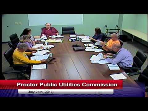 Proctor Public Utilities Committee 2017 07 25