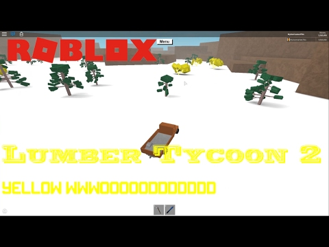 Roblox: Lumber Tycoon 2: HOW TO GET YELLOW WOOD!