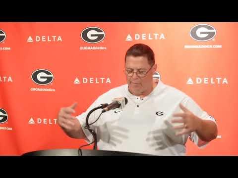 UGA Offensive Coordinator Jim Chaney talks before 2018 season
