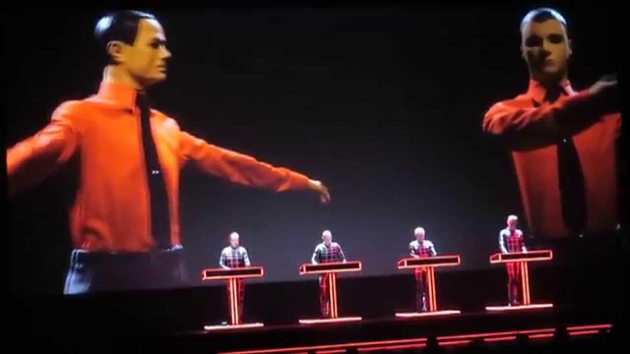 "Kraftwerk-""THE ROBOTS"" [Live 3D concert] Fox Theater ...Kraftwerk The Robots"