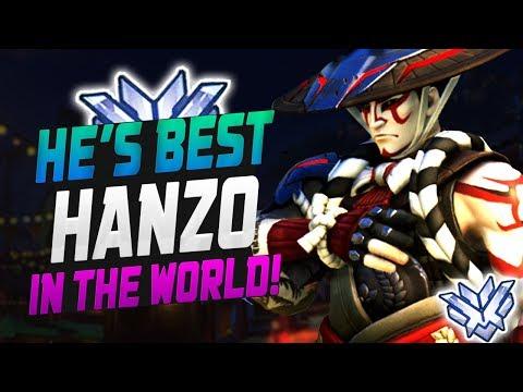 WRAXU BEST HANZO! 4004 SR! [ OVERWATCH SEASON 14 TOP 500 ] thumbnail