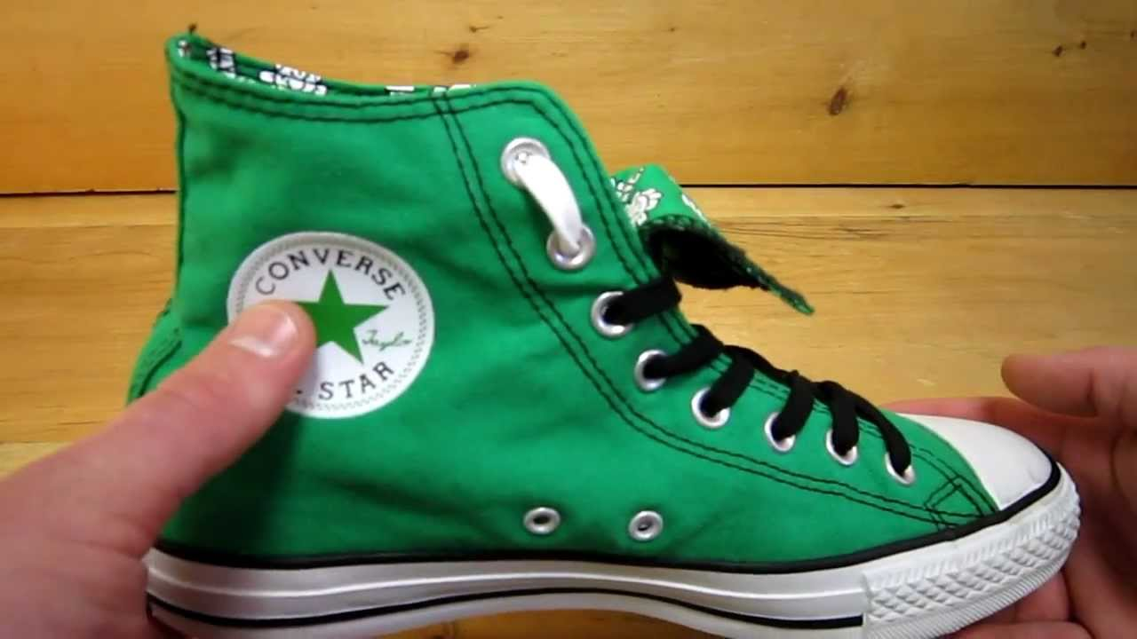 Converse Green Day