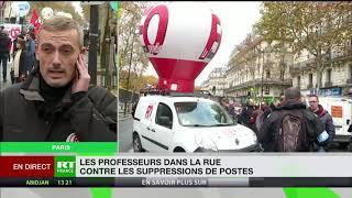 Grève des professeurs : «le gouvernement avance à marche forcée» pour Clément Poullet