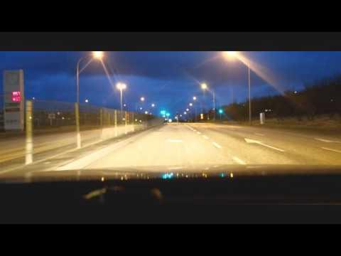 Driving in Reykjavík