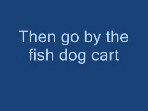 Club Penguin Fair Fish Dog Cart Field Ops 2012