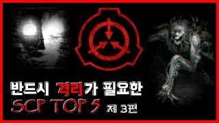 반드시 격리가 필요한 SCP TOP 5 - 제 3편 - [무서운 이야기][SCP괴담] - 숫노루TV