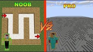 NOOB VS PRO - LABERINTO OCULTO!! MINECRAFT TROLL