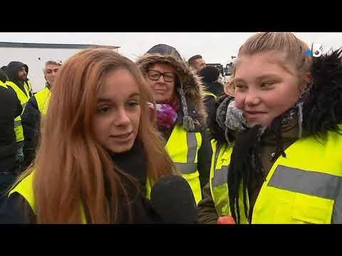 51af4ead86932 Gilets jaunes   sur le blocage de Dole avec Fabrice Schlegel - YouTube