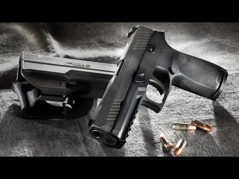 Unboxing the Sig Sauer P320-Initial Impression