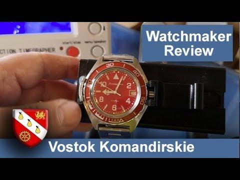 Vostok Komandirskie (2416b) - Watchmaker Review