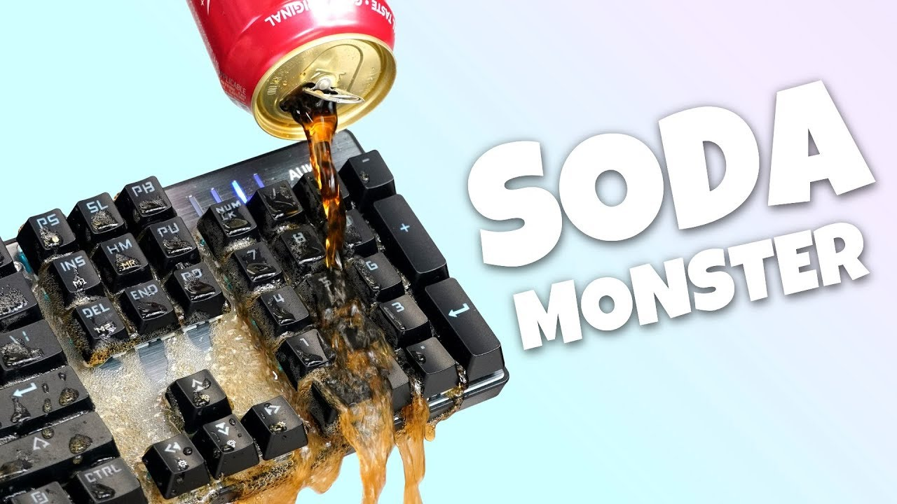 This Keyboard SPITS 🔥 Soda 🔥, We Try It In Fortnite and CS:GO