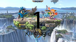 Killer y magic jugando al smash