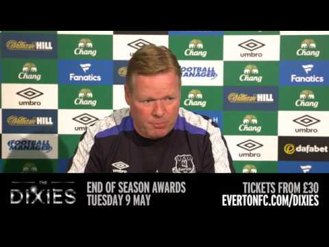 Ronald Koeman's pre-West Ham press conference