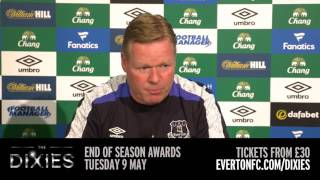 Ronald Koeman's pre-West Ham press conference