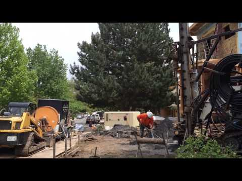 Geothermal hole bore - 300 ft hole in 21 seconds
