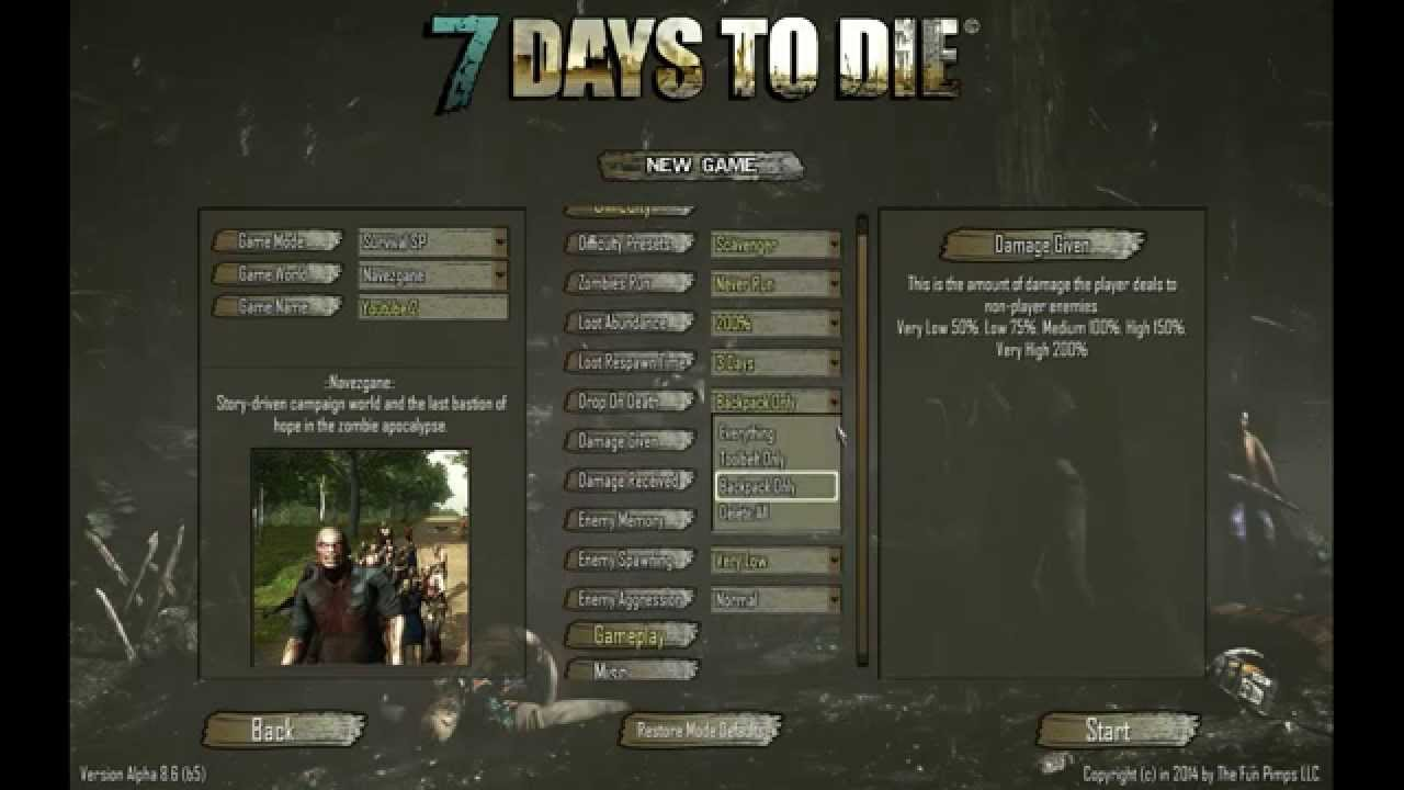 Beginners Guide Official 7 Days To Die Wiki