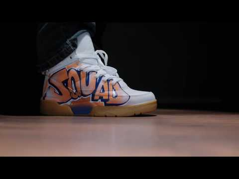 Ewing Squad 33 Custom Sneakers