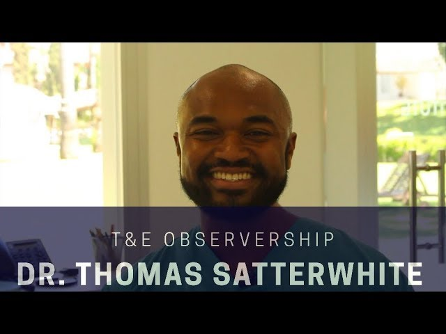 FFS Training & Education Observership invites Dr. Thomas Satterwhite