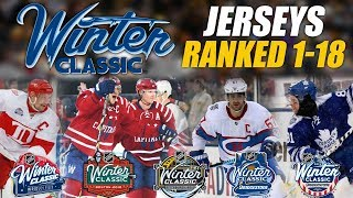 NHL Winter Classic Jerseys Ranked 1-18
