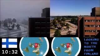 TIMELAPSE PROVES FLAT EARTH