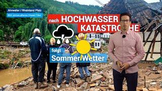 Entspannung nach HOCHWASSER KATASTROPHE - Wetterring Regionalwetter 19.07.2021