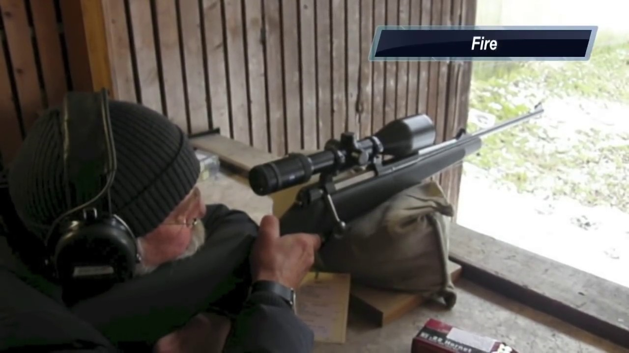 Shooting a Mauser M03 Extreme