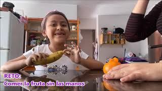 MI PRIMER VIDEO 😊, RETOS!! LICUA...