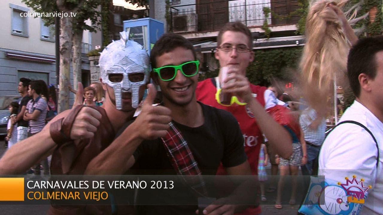 Carnavales de verano en colmenar viejo 2013 youtube for Alquiler de trasteros en colmenar viejo
