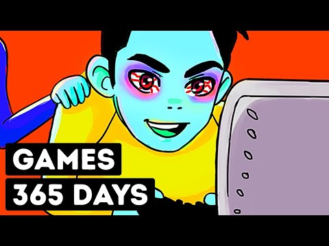 What If You Played Video Games for a Year Non-Stop