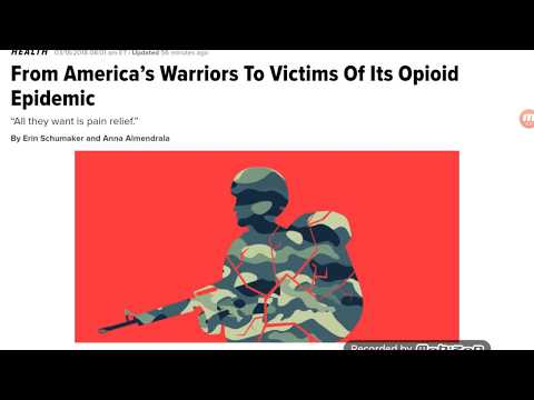 US Veterans Are Also Struggling With Opioid Addiction