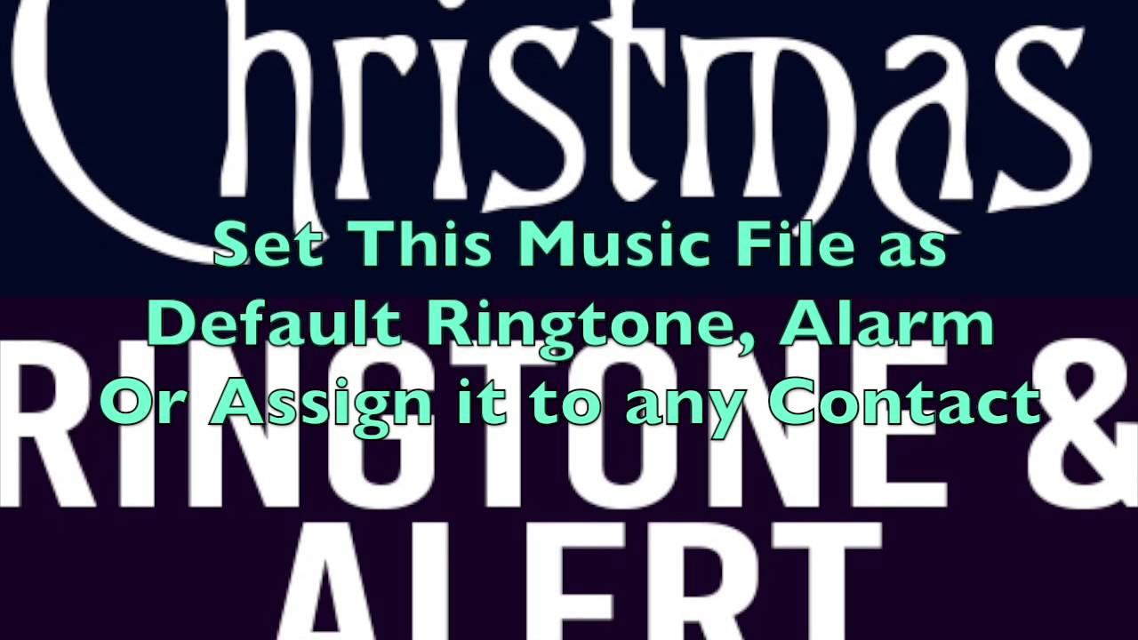 The Nightmare Before Christmas Ringtone and Alert - YouTube