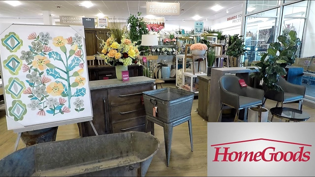 Home Goods Spring Decor Home Decor Shop With Me Shopping Store Walk Through 4k Youtube