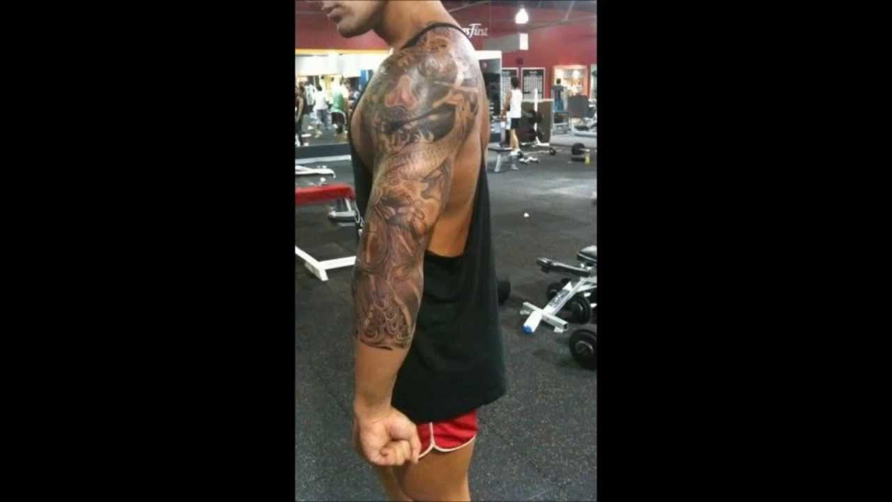 f86a48183123f Zyzz Tattoo - YouTube
