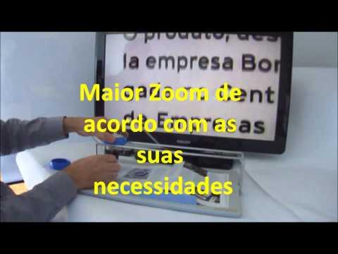 Lupa Eletronica Bonavision com Zoom