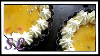 WHITE CHOCOLATE, PASSIONFRUIT & RASPBERRY TARTLETS - Recipe
