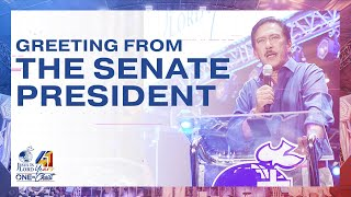 Greeting from the Senate President | JIL Church 41st Anniversary