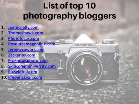 How to start a photography blog by Tips2blog com
