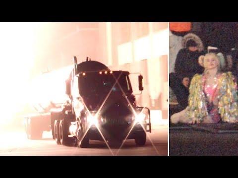 Margot Robbie Films An Explosively Dangerous Scene For 'Birds Of Prey'