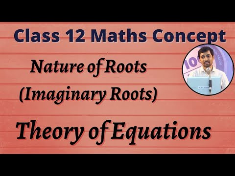 TN New Syllabus Concept 4 | Theory Of Equations | Nature Of Roots | Imaginary Roots