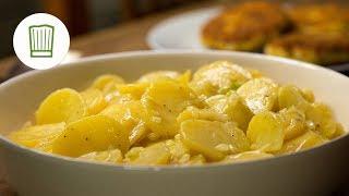 Chefkoch Rezept: Schwäbischer Kartoffelsalat Rezept #chefkoch