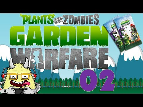 Plants vs Zombies: Garden Warfare - Booster Pack Opening + Bonus ...