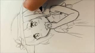 Drawing manga girl loli ~ (Mony)