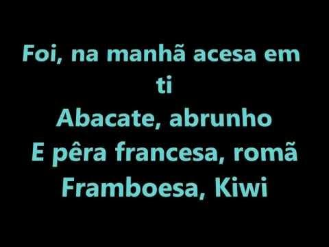 Dina - Amor de água fresca lyrics