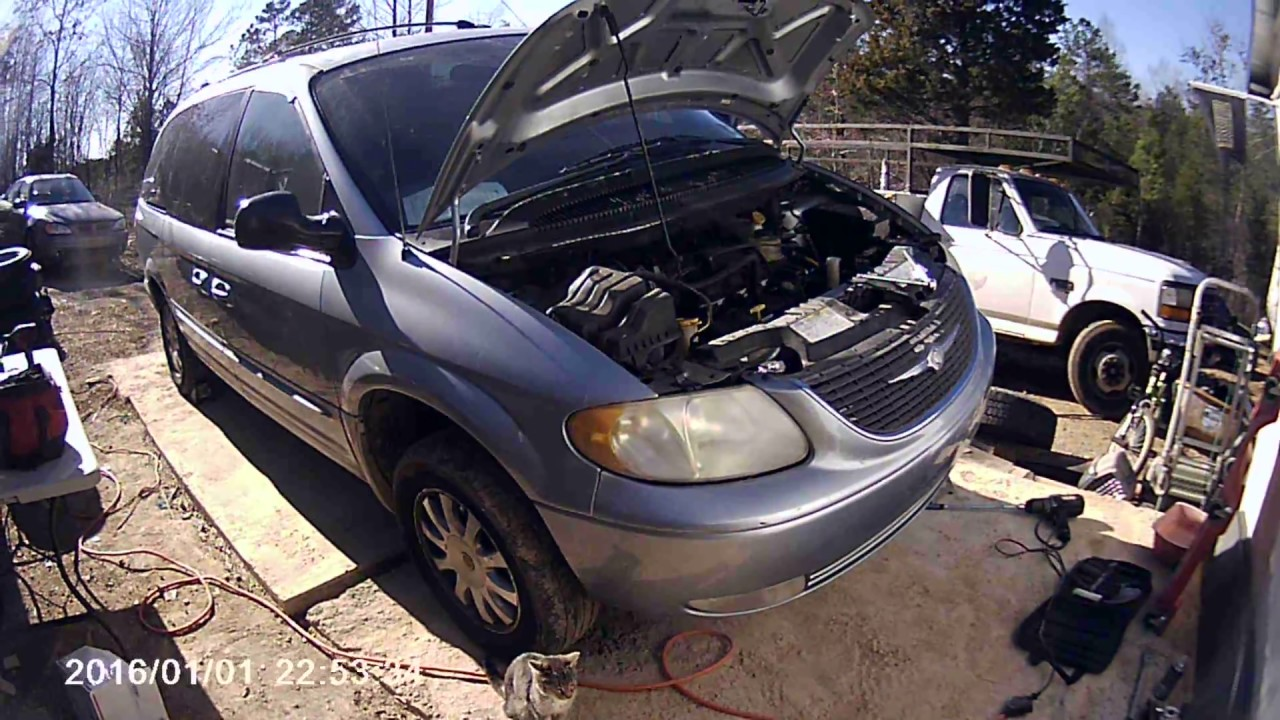 2003 crysler town country rear motor mount replacement [ 1280 x 720 Pixel ]