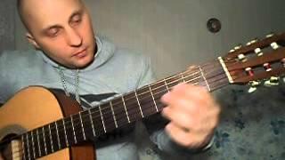 Как просто сыграть на гитаре зелёные рукава