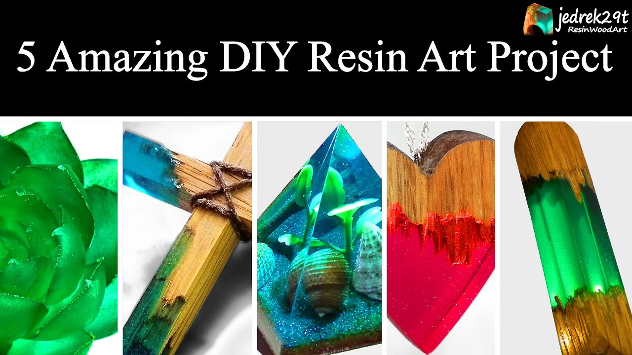 5 Most Amazing Diy Ideas From Epoxy Resin Simple Tutorial Resin Art Part 2