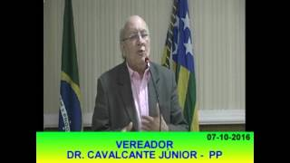 Pronunciamento Cavalcante Jr 07 10 16